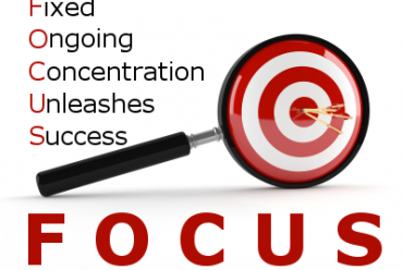 How can you overcome your lack of focus?